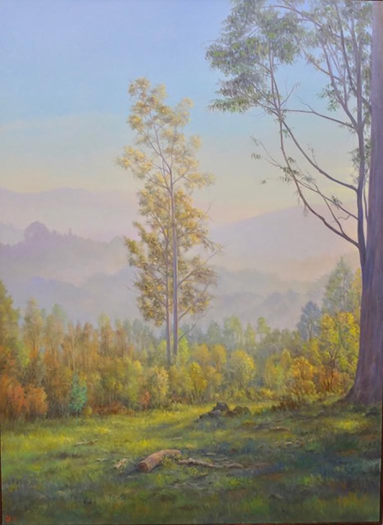 Willard Dixon Still-Life Painting - The Eucalyptus