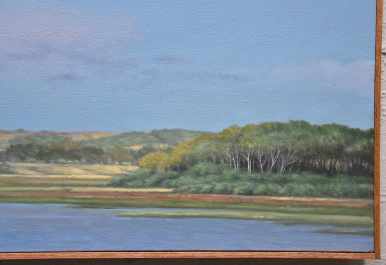 Tomales Bay  - Painting by Willard Dixon