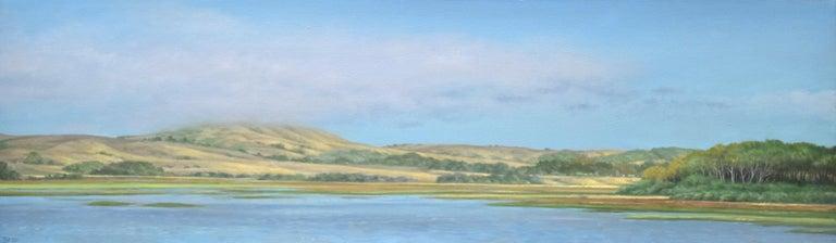 Willard Dixon Landscape Painting - Tomales Bay