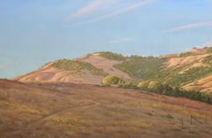 Watershed / oil on canvas - walking path