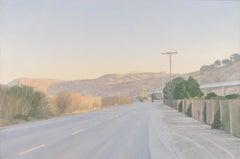 Willard Dixon 'Near San Quentin' Contemporary Realism Landscape Painting
