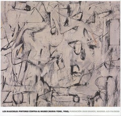 2019 After Willem de Kooning 'Zot' Abstract Expressionist Spain
