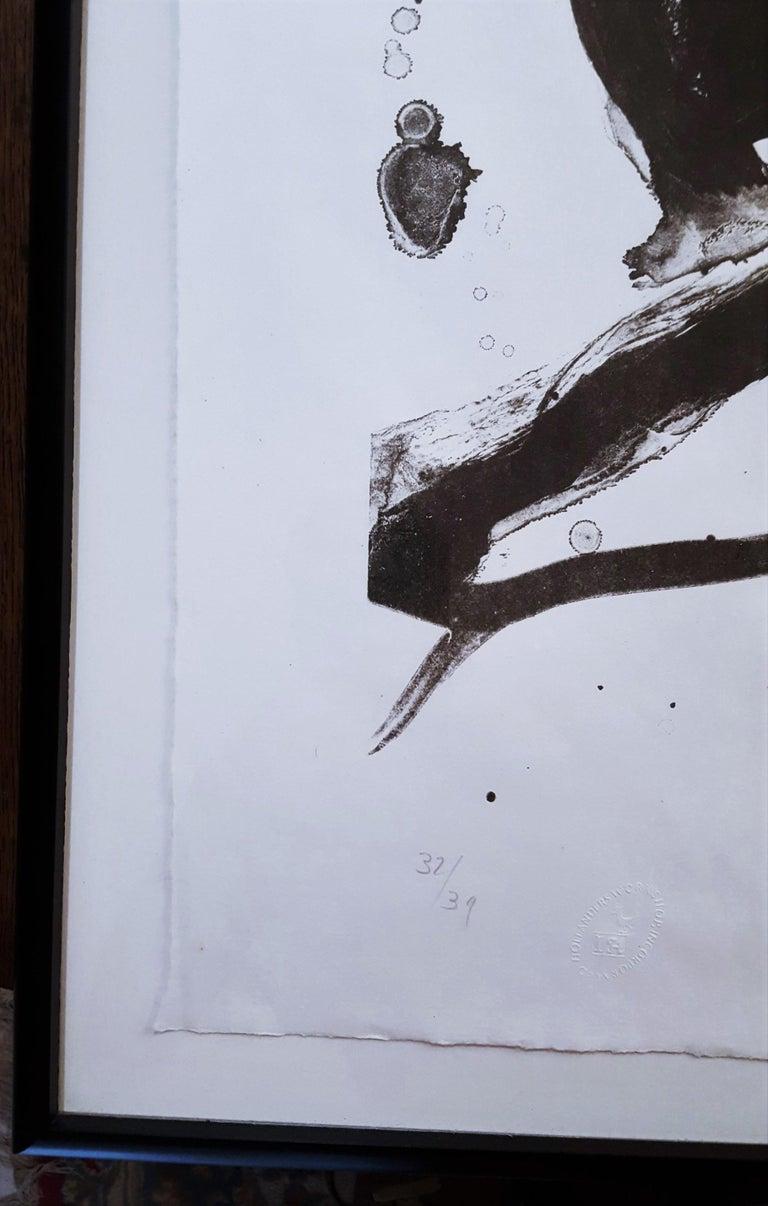 An original signed lithograph on Suzuki paper by Dutch-American artist Willem De Kooning (1904-1997) titled