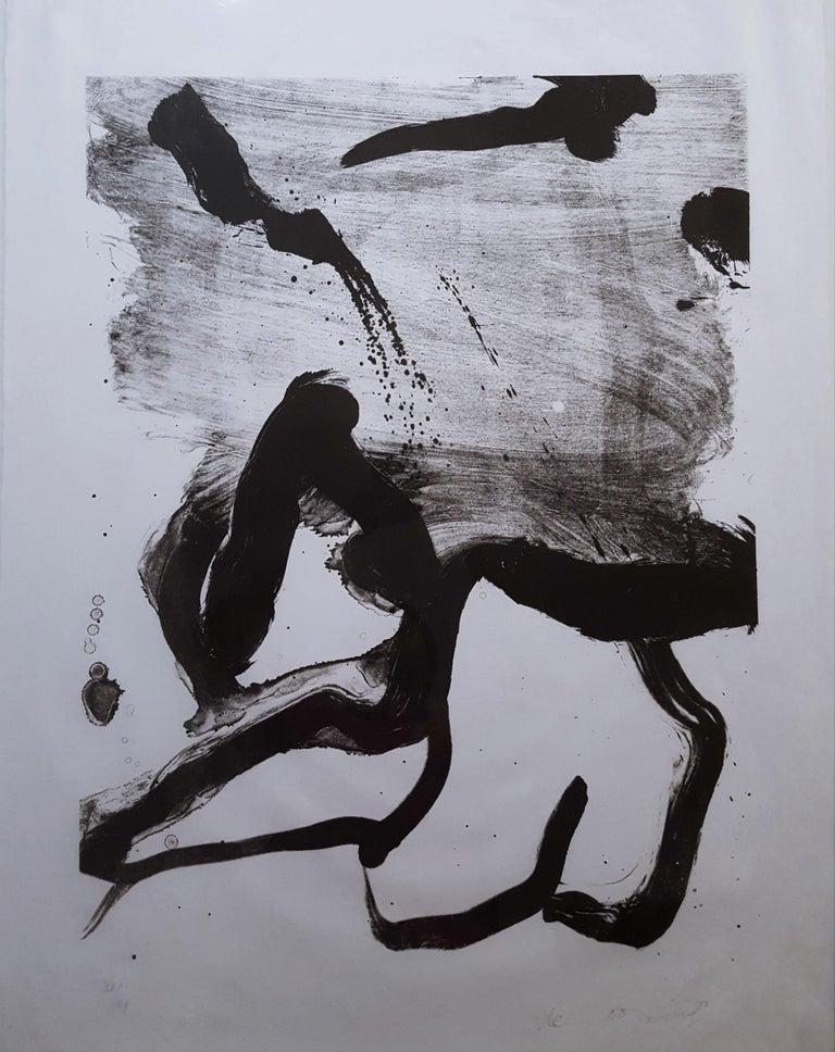 Willem de Kooning Abstract Print - Beach Scene