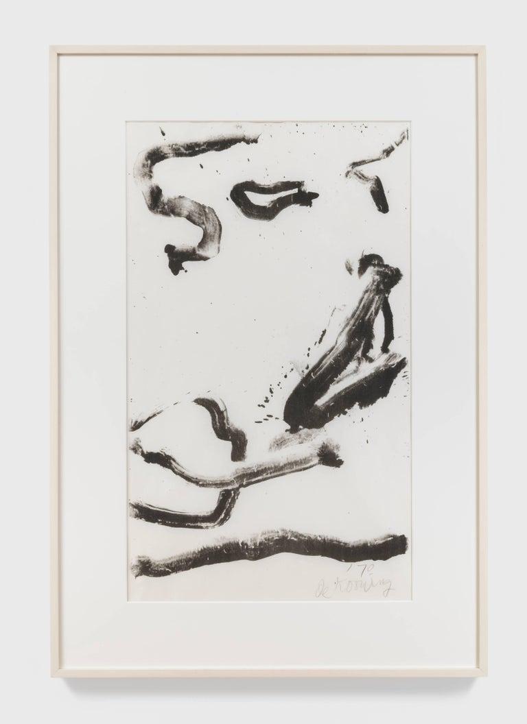 Love to Wakako - Print by Willem de Kooning