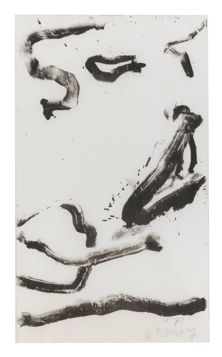 Willem de Kooning Abstract Print - Love to Wakako