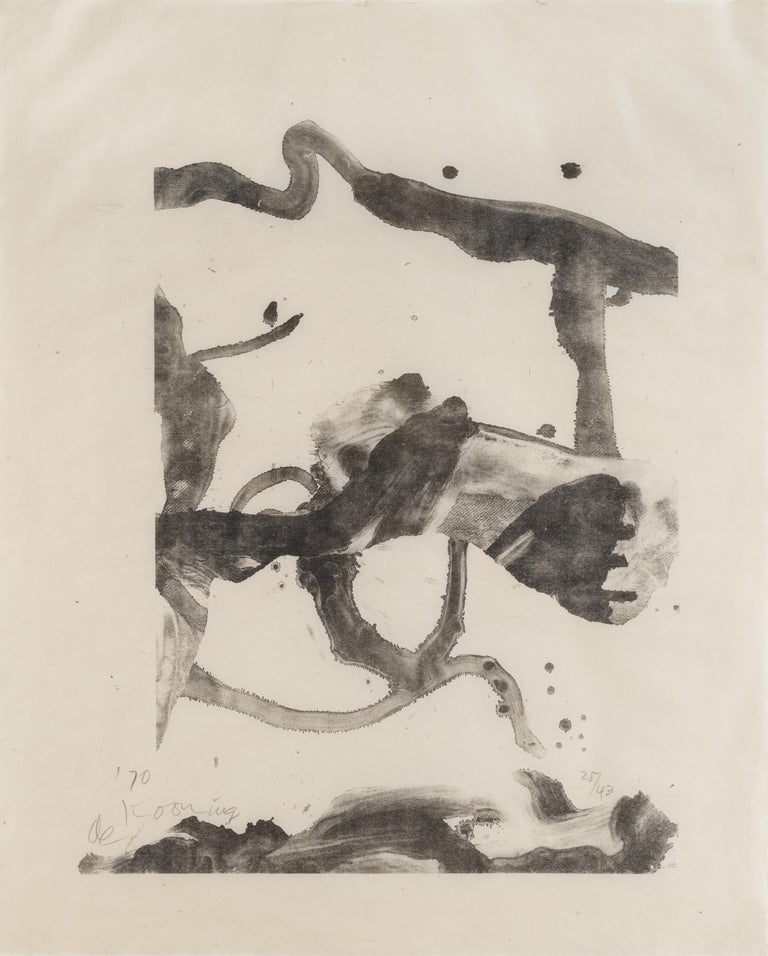 Willem de Kooning Abstract Print - Souvenir of Montauk