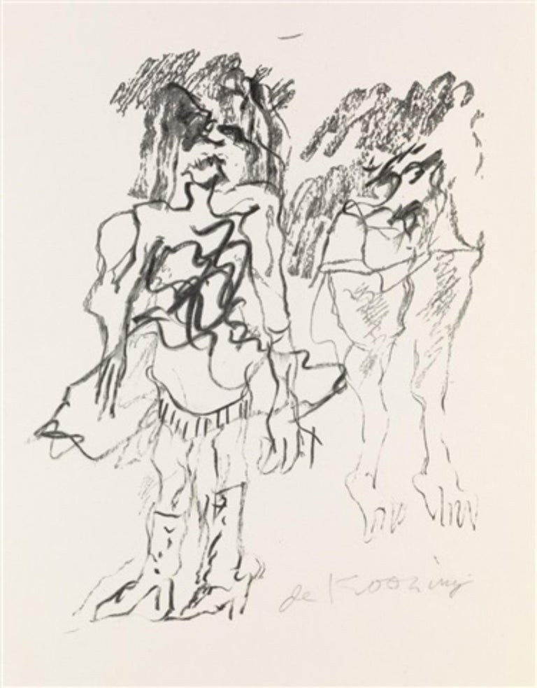 Willem de Kooning Abstract Print - Two Women