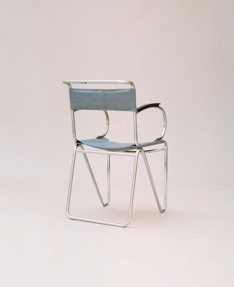 W.H. Gispen (1890-1981) did not invent the concept of tubular steel furniture in the early 20th century but he was largely responsible for translating a set of new design ideals to a Dutch audience. Restraint, elimination of ornament, comfort, and