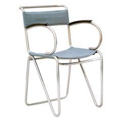 Willem Hendrik Gispen, Rare Diagonal Chair Variant, circa 1930