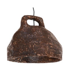 """Willem van Hooff Contemporary Clay Hanging Lamp from the Series """"Dual Lamps"""""""