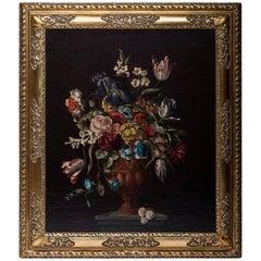 Willem Verbeet Painting Flowers
