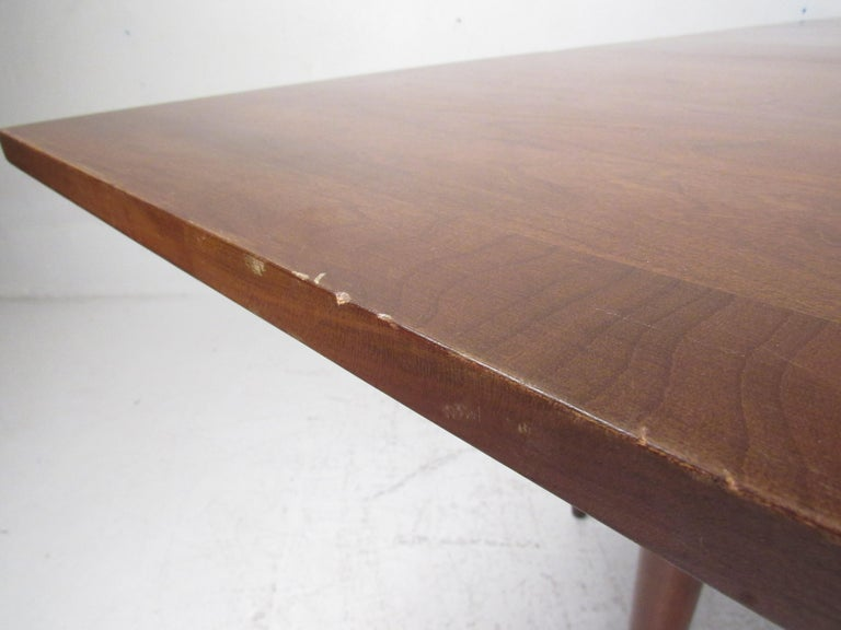 Willett Solid Cherry Transitional Drop Leaf Dining Table For Sale 4