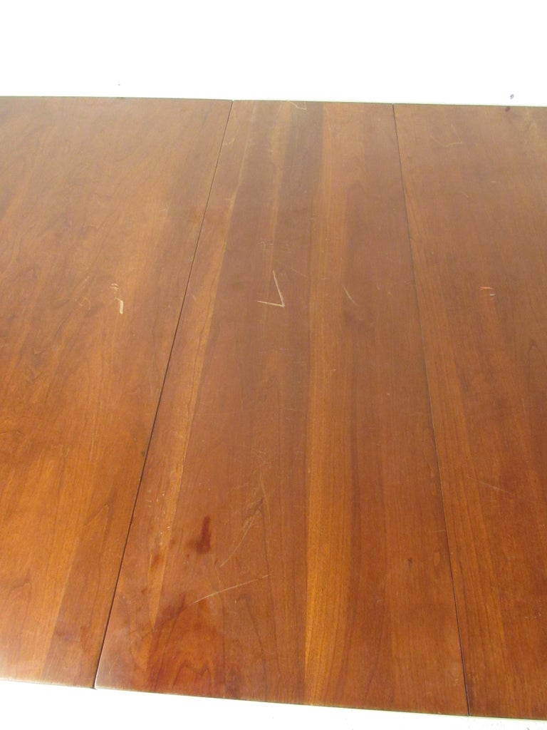 Willett Solid Cherry Transitional Drop Leaf Dining Table For Sale 1