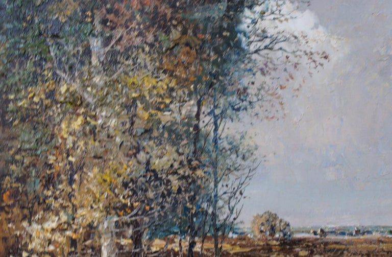 Landscape - Impressionist Painting by Willi BAUER