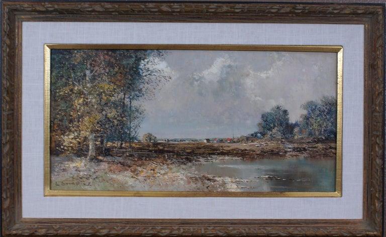 Willi BAUER Landscape Painting - Landscape