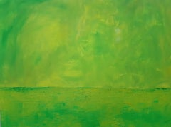 No Titel- contemporary expressionistic abstract painting, metaphysical landscape