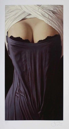 """Willi Kissmer - """"Gray and White"""" - giclée print - signed/numbered - edition: 50"""