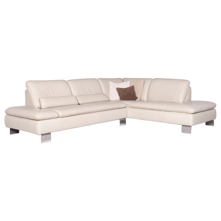 Willi Schillig Leather Corner Sofa