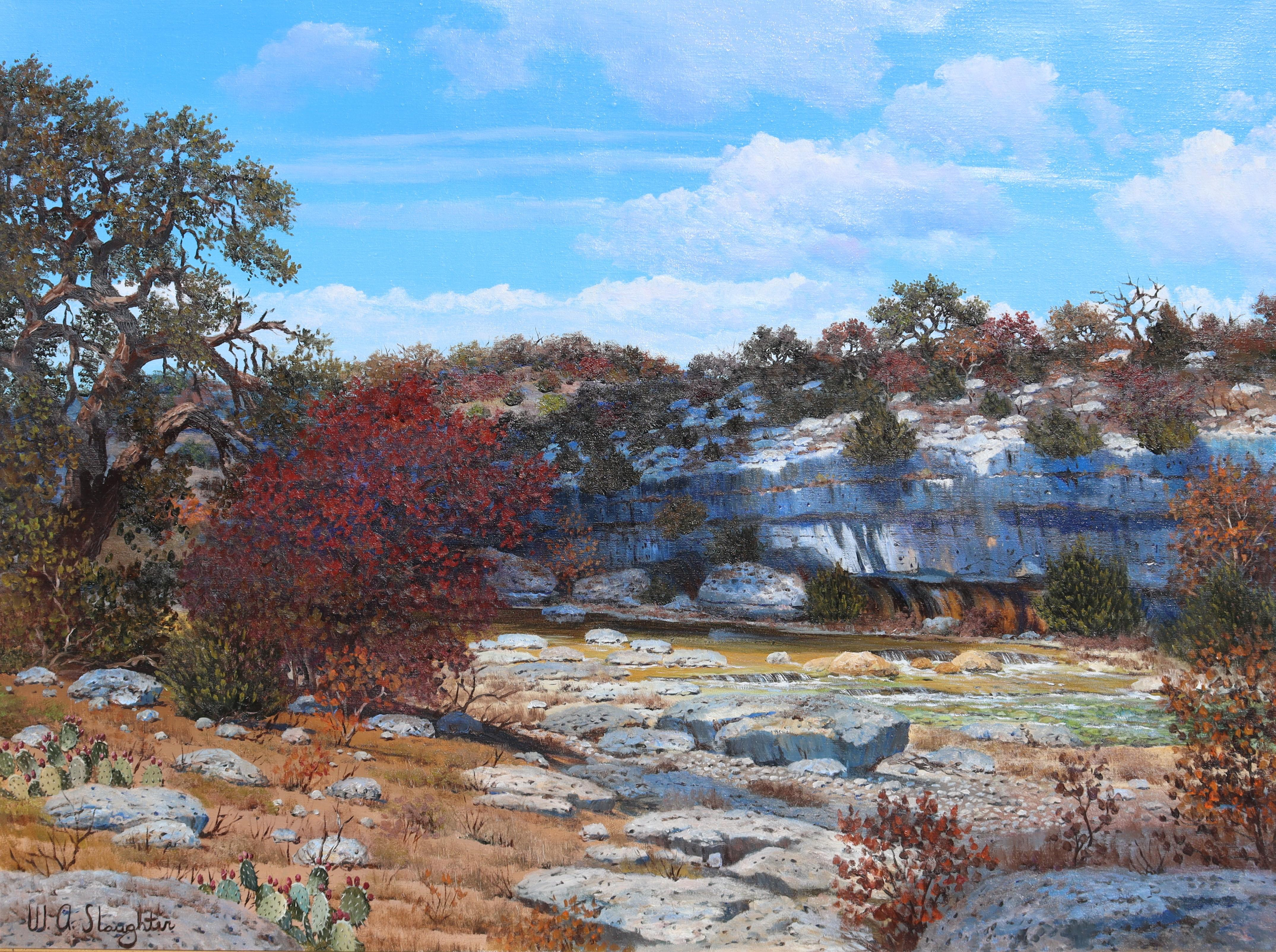 Autumn, Texas Landscape at the Bluff