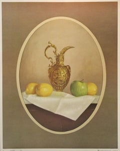 Gold Pitcher-Print. IRA Roberts Publishing, Inc. 1976. Lithographed in USA