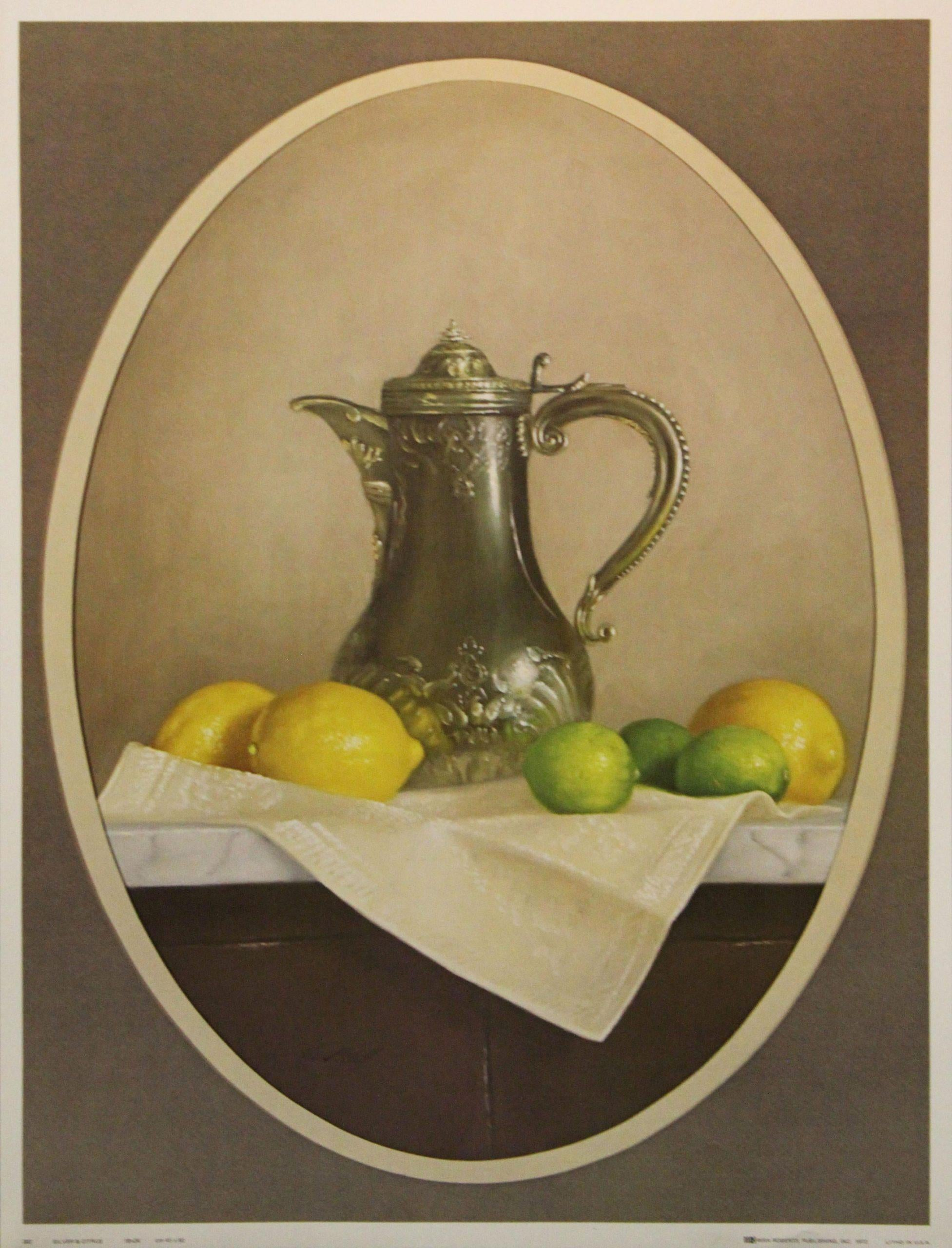 Silver & Citrus-Print. IRA Roberts Publishing, Inc. 1973. Lithographed in USA