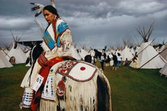William Albert Allard, Acosia Red Elk, Indian beauty queen, Pendleton, Oregon, 1