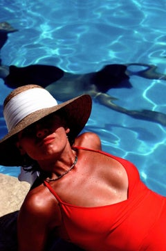 William Albert Allard, Ani by the Pool, Provence, France, 1983