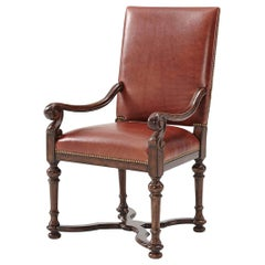 William and Mary Dining Armchair