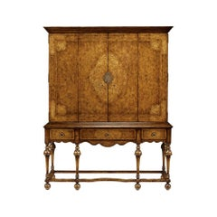 William and Mary TV Cabinet