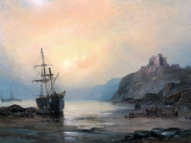 William Anslow Thornley Landscape Painting - Tantallon Castle
