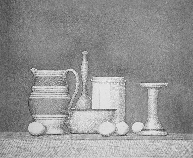 William Bailey Still-Life Print - Stradine