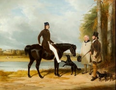 Richard Crawshay of Ottershaw Park An English Equestrian Portrait 19th Century