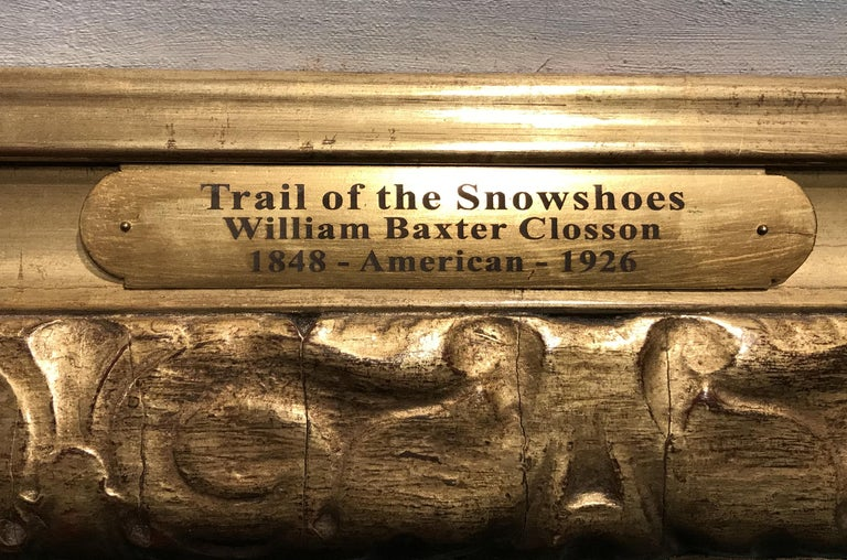 The Trail of Snowshoes For Sale 2
