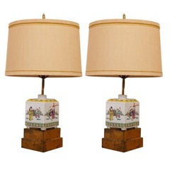 "William ""Billy"" Haines Chinese Tea Jar Lamps"