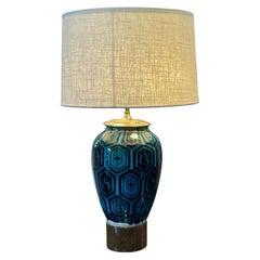 William Billy Haines Glazed Ceramic Table Lamp