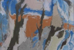 William Bishop Owen Jr. - 1950s oil painting - 'Enchanted Cavern'
