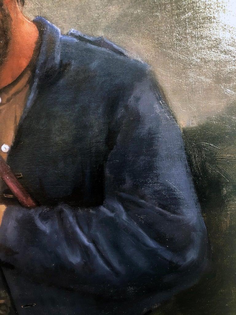 Caravaggio painted