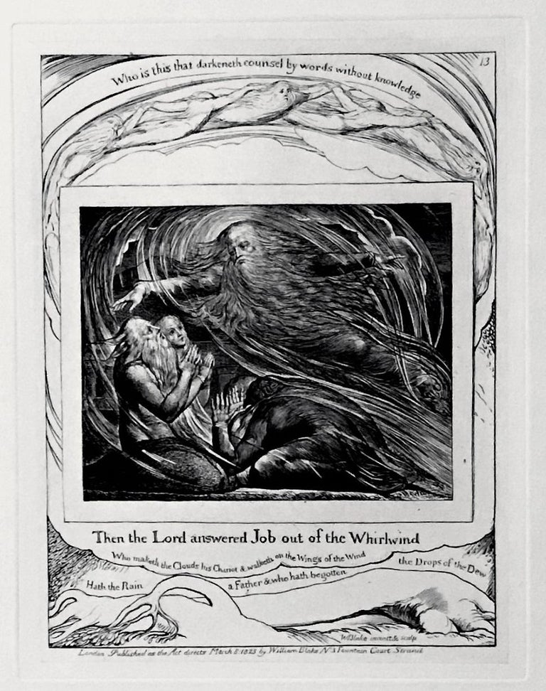 Illustrations of the Book of Job - Print by William Blake