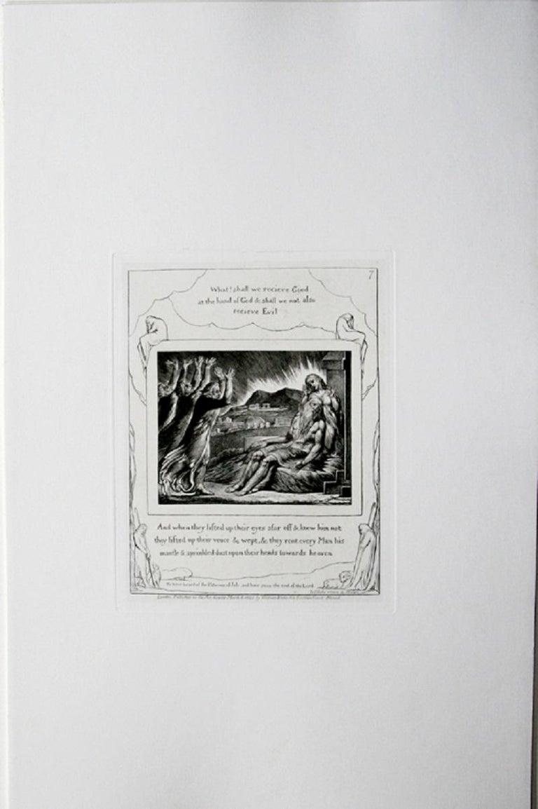 Job's Comforters - Print by William Blake