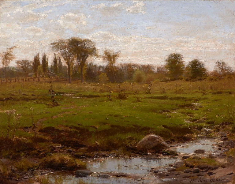 William Bliss Baker Landscape Painting - Early Summer