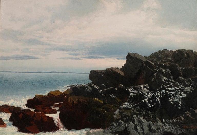 William Bradford Landscape Painting - Rocky Shore