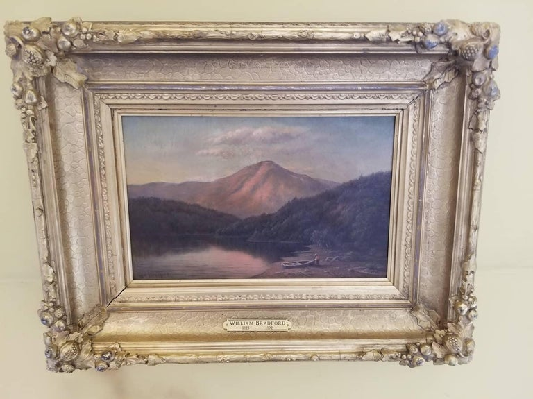 Whiteface Mt, Lake Placid NY - Painting by William Bradford