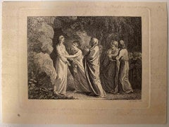 The Revelation - Original Etching by William Bromley - 1810