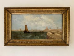 William Calcott Knell,  An extensive view of Portsmouth harbour