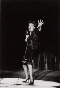 Judy Garland, Las Vegas, NV (the iconic singer in her classic concert pose)