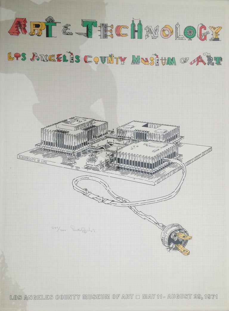 ART & TECHNOLOGY-LOS ANGELES COUNTY MUSEUM OF ART Being demolished as we speak!! For Sale 4