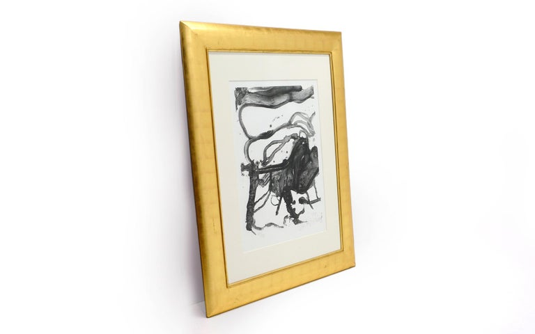 Willem De Kooning (Dutch-American, 1904-1997) High school desk, 1970 Viscosity acid edged Lithograph print on Italia paper. Signed, dated and numbered. 26 of an edition of 57. Published by Knoedler, New York. Oval embossed chop mark bottom