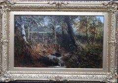 Summer - Estate of Earl Poullett - Hinton St George Somerset - 19thC landscape