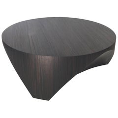 """William Earle """"Barrens"""" Cocktail table, round, 40"""""""